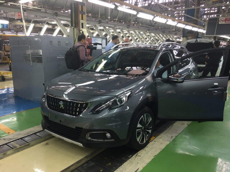 پژو 2008 به خط تولید ایران خودرو بازگشت