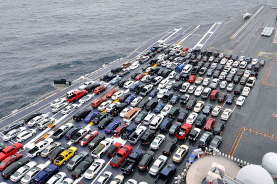 Recognition of the parliament's plan to import cars into the country