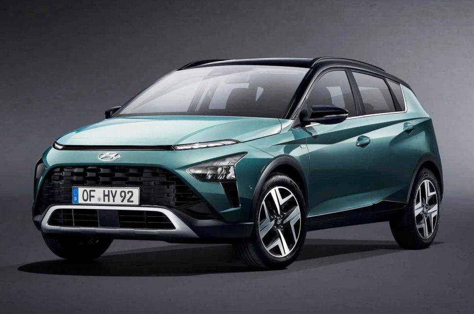 Introducing a small Hyundai Bayon 2021 crossover
